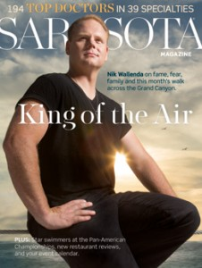 Top Cover Sarasota Magazine's 2013