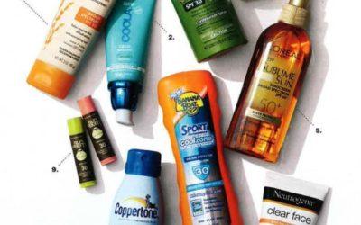 Martha Stewart Living Magazine – Sunscreens