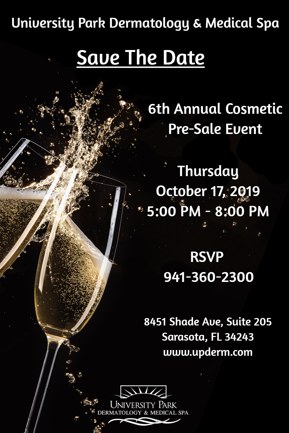 2019 Pre-Sale Event Save the Date