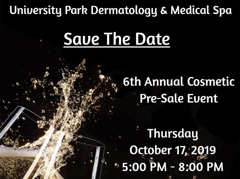 6th Annual Cosmetic Pre-Sale Event