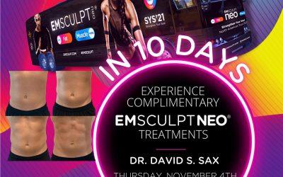 FREE Emsculpt Neo treatments